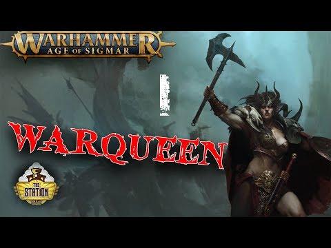 Былинный Сказ: Warqueen Age of Sigmar Часть 1
