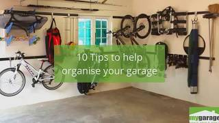 10 Tips to help you organise your garage by MyGarageSA