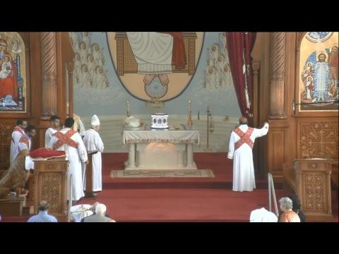 Sunday Divine Liturgy - 2017/09/10 - St. Mark Coptic Orthodox Church, Toronto