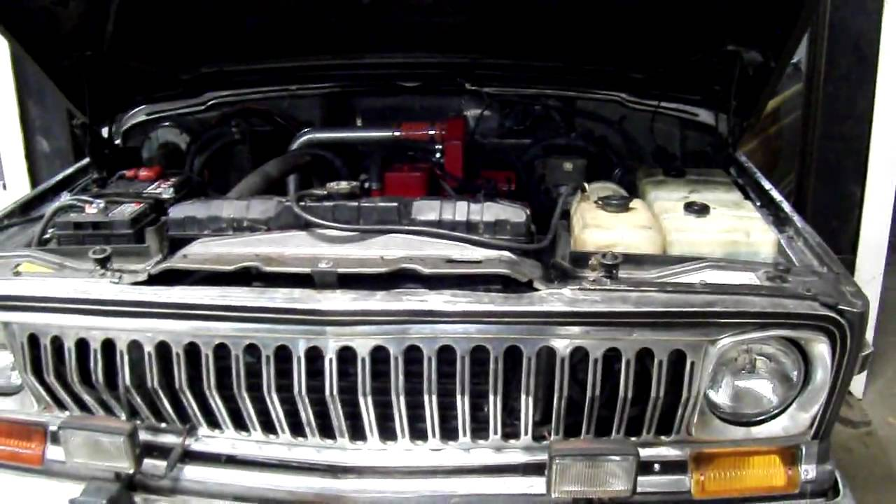 Cummins Diesel 4bt Conversion Fullsize Jeep Wagoneer