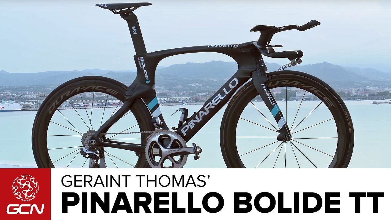 Geraint Thomas Pinarello Bolide Time Trial Bike Youtube