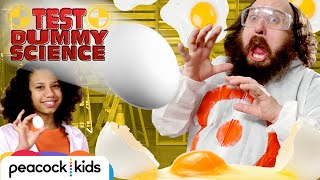 How to Win and Lose the Egg Drop Challenge | TEST DUMMY SCIENCE