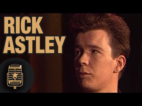 Rick Astley is interviewed by TopPop 1987 • Celebrity Interviews