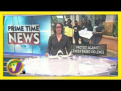 Jamaican PNP Group Protest Against Gender Based Violence | TVJ News