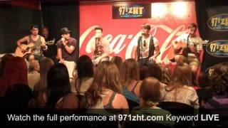 Big Time Rush - Windows Down - LIVE