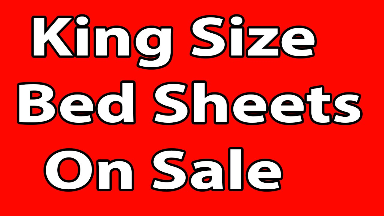 King Size Bed Sheets On Sale   Only On ShopHBD.COM