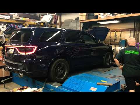 FBO AWD Dodge Durango R/T 5.7L On Dyno