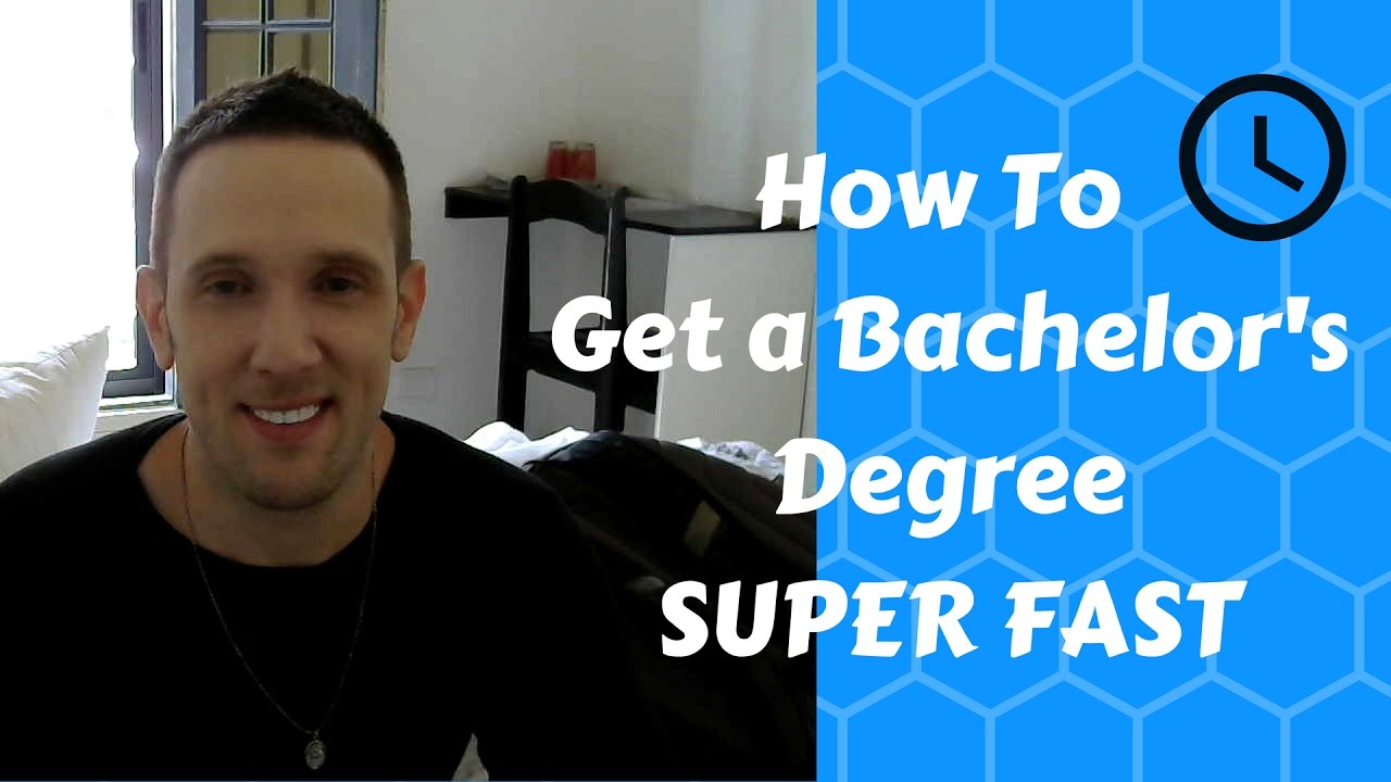 How to Get an ACCREDITED American Bachelor's Degree SUPER FAST