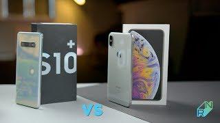 Samsung Galaxy S10 Plus vs iPhone Xs Max - Porównanie - Który lepszy? | Robert Nawrowski