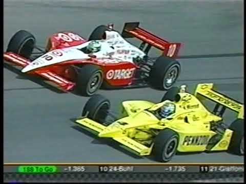 2003 IRL IndyCar Series Chevy 500 At Texas Motor Speedway