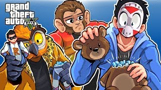 GTA 5 - MKII RACE AND MINI GAME! (Funny Moments) New Shop info!