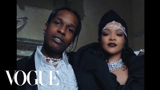 Rihanna & A$AP Rocky Dance Together at the Met Gala #shorts