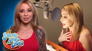 The Super Crew Behind The Super Girls | Voice Actors | DC Super Hero Girls