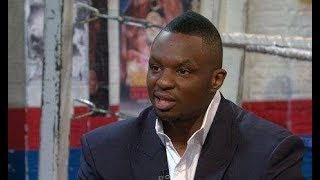 DILLIAN WHYTE UPSET WITH THE WBC OVER TITLE SHOT
