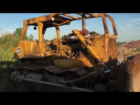 1976 Caterpillar D8K FOR SALE on ONLINE AUCTION - YouTube