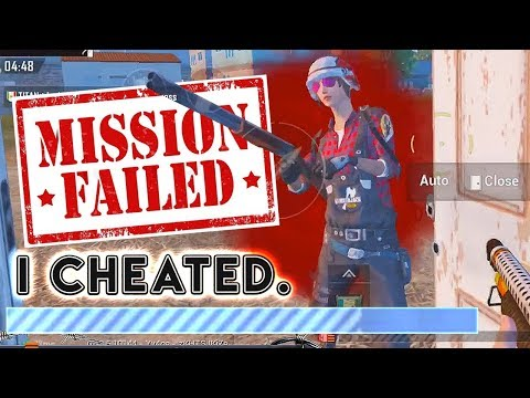 I CHEATED & FAILED THE CHALLENGE. PUBG Mobile