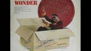 Watch Stevie Wonder Sugar video