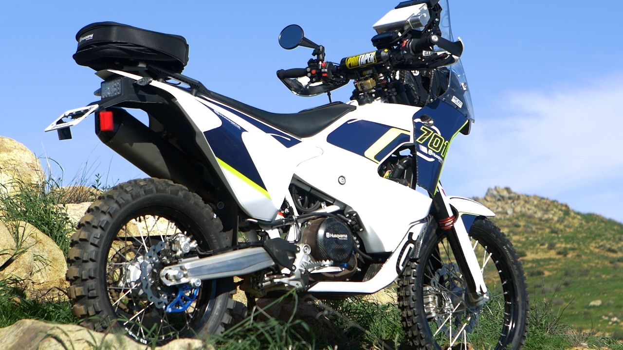 Husqvarna 701 Enduro >> Extremely Rare Husqvarna 701 Project Rally Bike - Dirt Bike Magazine - YouTube