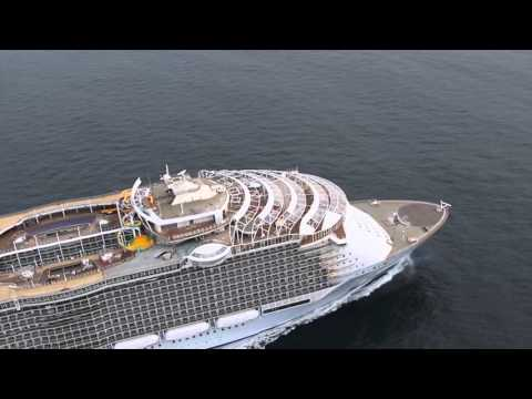 Harmony of the Seas  Essais en mer - Sea Trials - Saint Nazaire - STX France