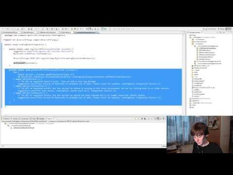 Dev Stream - Slidercraft! Mystcraft and LookingGlass APIs! - 1 / 2