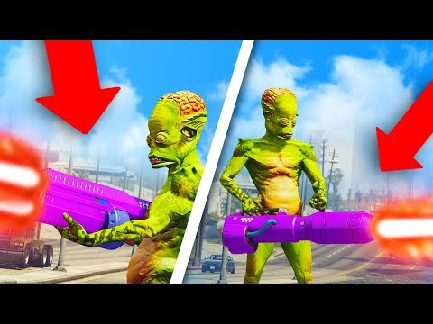 THESE GUNS WERE MADE TO TROLL PEOPLE! *ALIEN WEAPON UPDATE!* | GTA 5 THUG LIFE #204