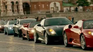 Aston Martin на Красной площади - кавалькада суперкаров