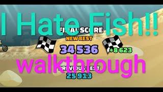 Hcr2 I Hate Fish 34,5K-36.7k Points! Hill climb racing 2 team event