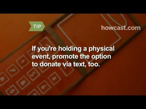 How to Hold a Mobile Fundraiser