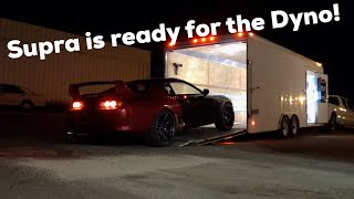 Prepping the Supra for the DYNO!
