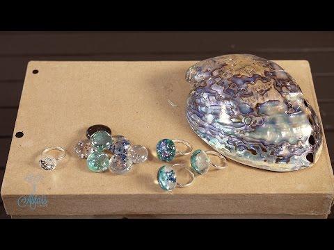 How to make fake Paua/Abalone Shell Arts & Crafts Tutorial