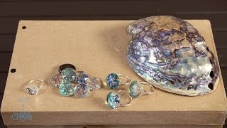 How to make fake Paua/Abalone Shell Arts & Crafts Tutorial
