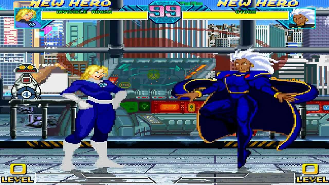 Fighting Vipers Mugen - Invisible Woman vs Storm Gameplay Footage!!!