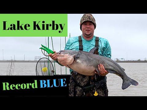 Lake Kirby Blue Catfish Record