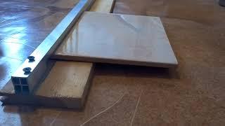 видео Как резать плитку без плиткореза в домашних условиях?