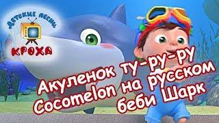 Акуленок туруру   беби Шарк   Cocomelon на русском