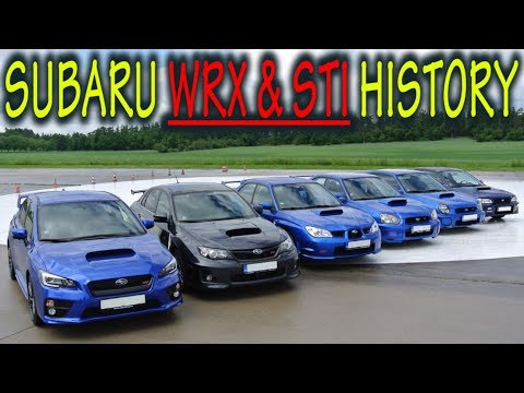 ★ Subaru Impreza WRX & STI History : Everything YOU Need To Know! ★