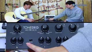 Fishman 어쿠스틱프리앰프 ToneDEQ