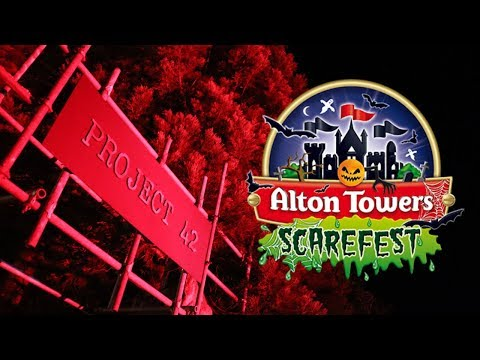 Alton Towers Scarefest Vlog October 2018