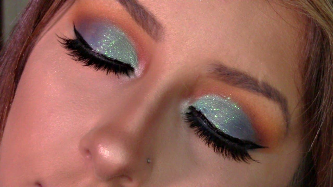 Blue Hawaiian Makeup Tutorial Using The Ohana And Jaclyn Hillxmorphe