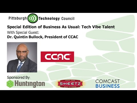 Business as Usual Featuring Dr. Quintin B. Bullock, President of CCAC