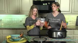 Chicken And Wild Rice Soup - Crockin' Girls