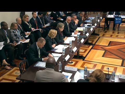 🔴 LIVE: Meeting of the President Trump Advisory Council on Doing Business in Africa 11/29/17 Watch