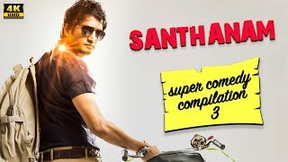 Santhanam   Super Comedy Compilation 3   Santhanam Super Hit Movies   4K (English Subtitles)