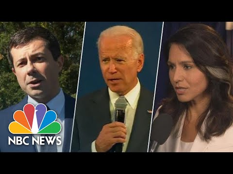 2020 Candidates React To Death Of ISIS Leader Abu Bakr Al-Baghdadi | NBC News