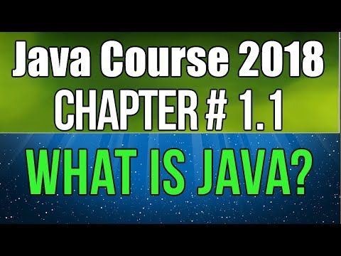Java Basic To Advance Course 2018   What Is Java   Chapter #1.1