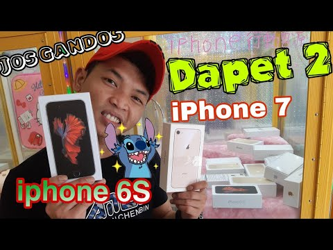 Dapet iPhone 7 Dan iPhone 6s di claw machine!!!