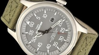 Timex Watches - 3 Great Timex Expedition Military Field Mens Watch