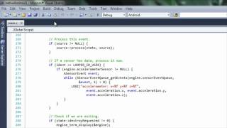 nvidia nsight tegra visual studio 1 1 walkthrough video