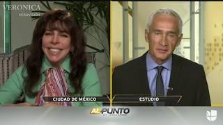 Verónica Castro Al Punto con Jorge Ramos