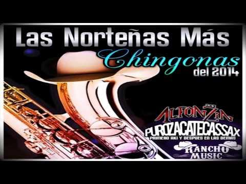 Norteñas Mix 2015 | Puras Chingonas - Dj Alfonzin